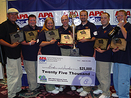 The APA National Team Championship